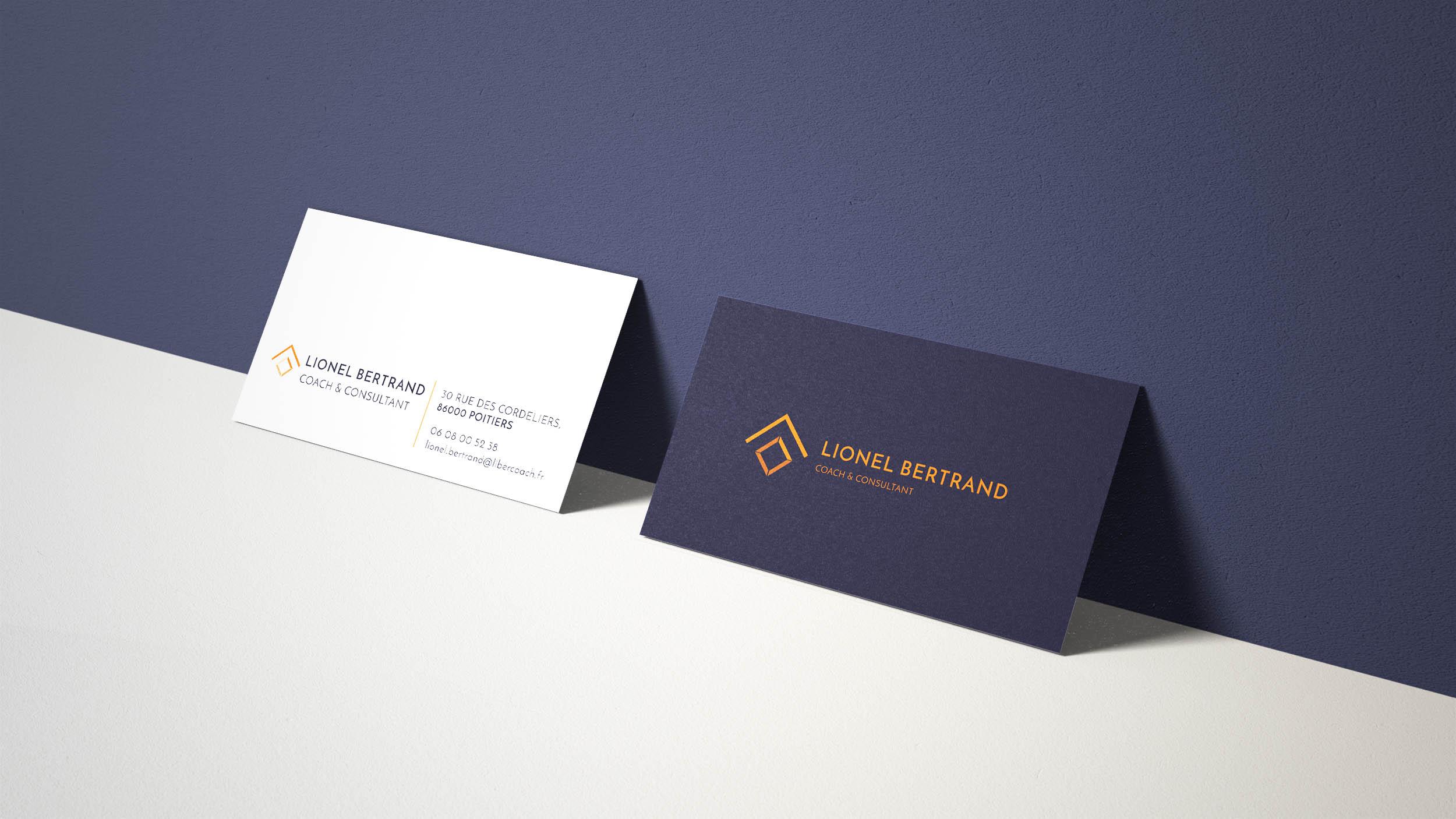 mariebabeau_graphiste-freelance-photographe-freelance-strasbourg-poitiers-Lionel Bertrand-Coach de vie-Poitiers-Création-Logo-Charte Graphique