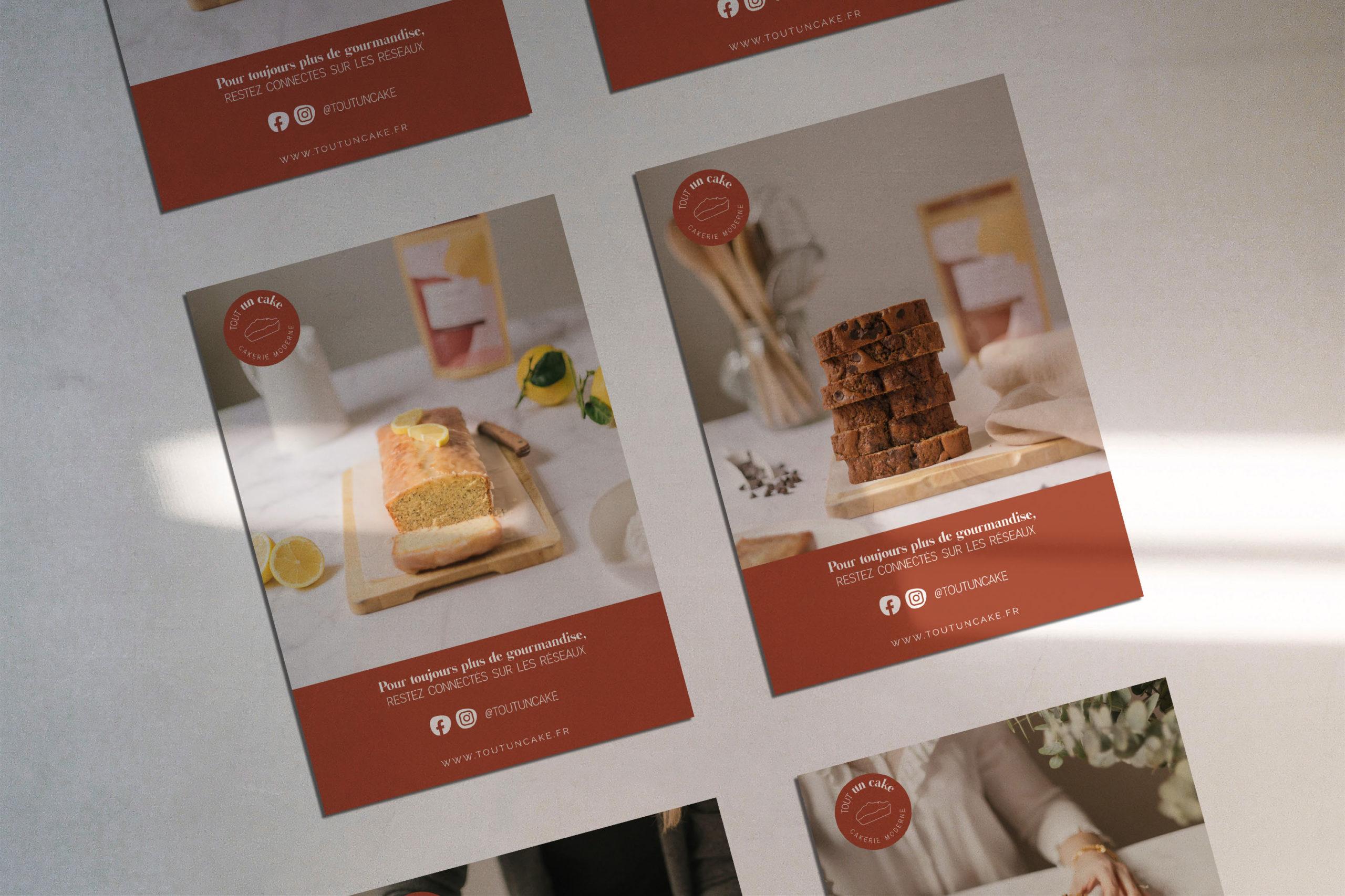 Tout un Cake · différentes cartes postales